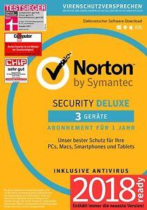 Norton-Security-Deluxe-3-0-2018-3-Geraete-1-Jahr-DE-PC-Mac-Tablet-Handy