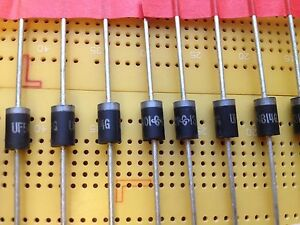 HER305G fast recovery 3A 400V rectifier diode 50nS  qty 20//100//1250