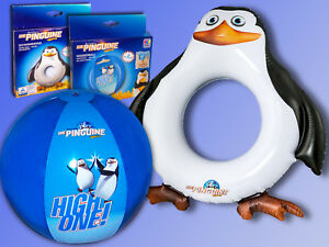 Happy People® Pinguine aus Madagascar Wasserball o. Schwimmring, Strandball