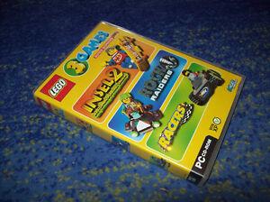 LEGO-3-PC-GAMES-Insel-2-Rock-Raiders-Racers-Top-DEUTSCH-gesprochen