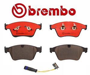 Front /& Rear Brembo Ceramic Brake Pads Sensors Kit for MB W164 W251 ML63 R63 AMG