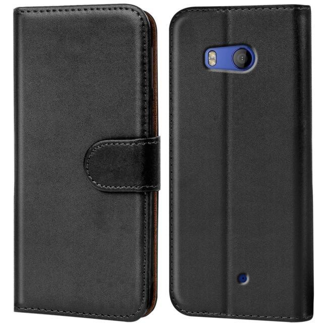 Handy Tasche für HTC U11 Life Flip Case Schutz Hülle Cover Wallet Etui Bookcase