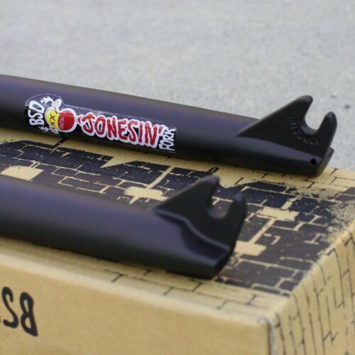 "BSD BMX BIKE JONESIN/' BICYCLE 3//8/"" FORK BLACK 22mm OFFSET ODYSSEY FIT"