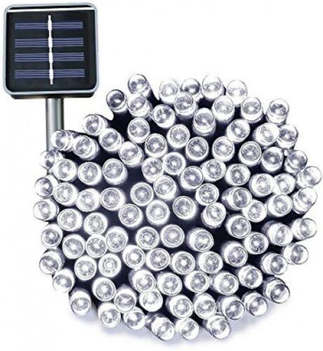 3m Solar Powered 100 LED Fairy String Lights Garden Waterproof 3 Mode Patio ##