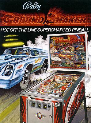 Bally Nitro Groundshaker pinball sound chip