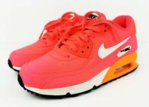 Details about Nike Air Max 90 Premium QS Hyper Punch Ivory Total Orange Ladies UK 4.5