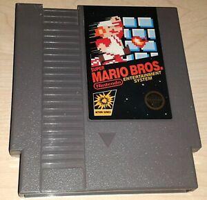 Super Mario Bros.1 Nintendo NES Vintage classic original retro game cartridge