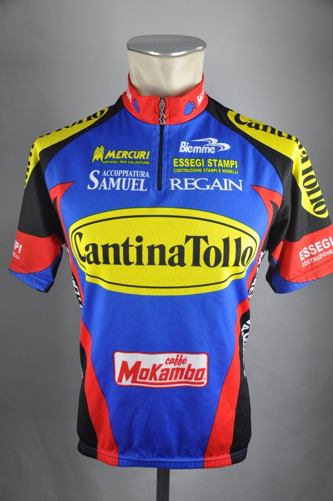 CantinaTollo Team Trikot Biemme Gr. M BW 52cm Bike cycling jersey Shirt HZ1