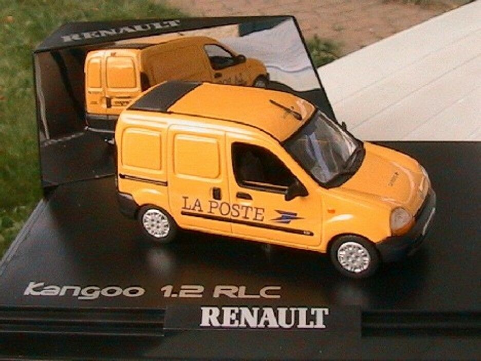 RENAULT KANGOO 1.2 RLC FOURGON TOLE LA POSTE PTT NOREV 1 43 yellow YELLOW