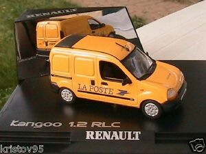 renault kangoo 1 2 rlc fourgon tole la poste ptt norev 1 43 jaune yellow ebay. Black Bedroom Furniture Sets. Home Design Ideas