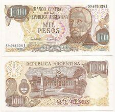 ARGENTINA  $ 1,000 ND(1981) P-304d UNC 2462 SERIE I N85 LOPEZ-GONZALEZ DEL SOLAR