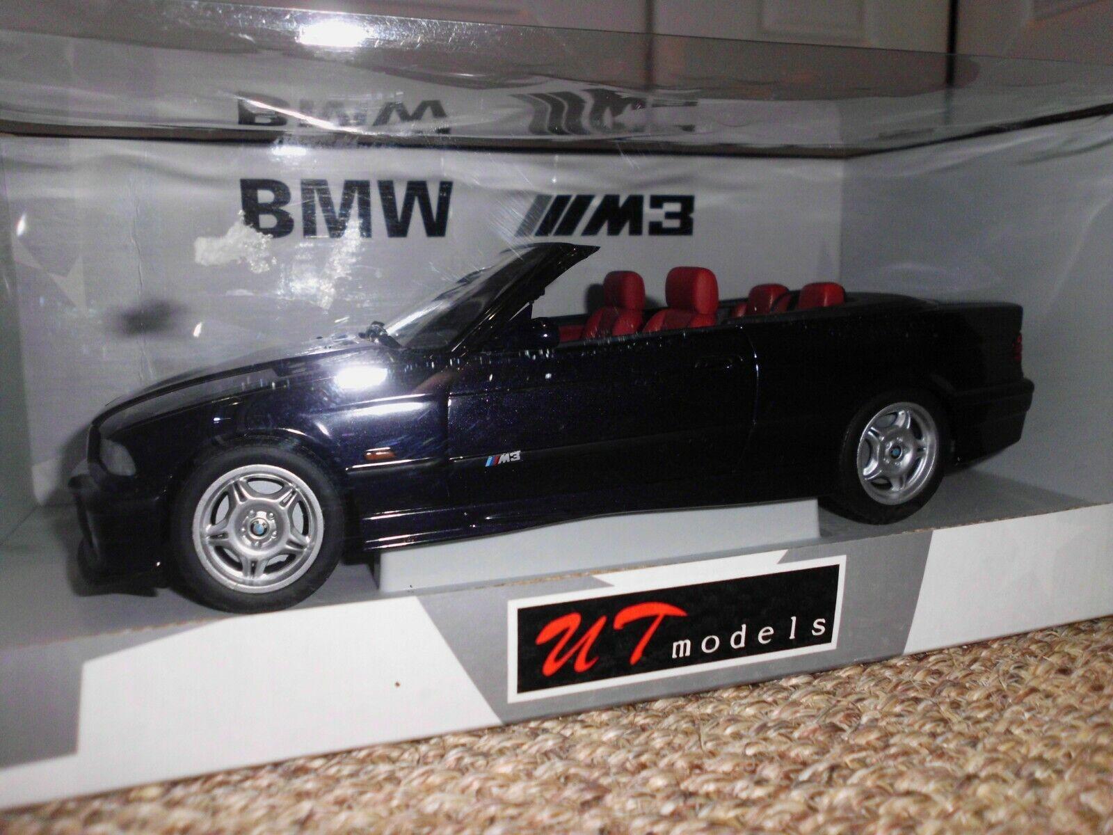 1 18 BMW E36 M3   Cabrio    selten    UT Models