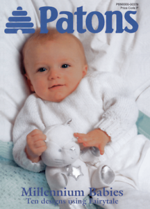 Patons Millennium Babies Knitting Pattern, Ten designs in ...