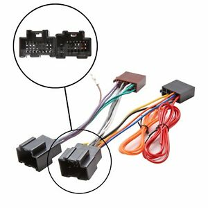 details about saab car stereo audio radio iso wiring harness