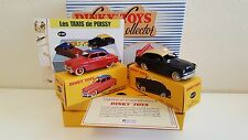 "Dinky Toys Atlas - Coffret ""Les Taxis de Poissy"" - Simca Aronde / Ford Vedette"