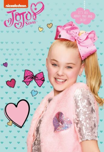 "JoJo Siwa My World Kids Star TV Show Music Poster Silk 13x20/"" 20x30/"" 24x36"