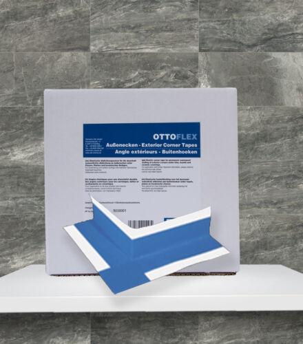 OTTOFLEX 4 Stück Außenecken eleastische Abdichtungsecken Bad Dusche Abdichtung