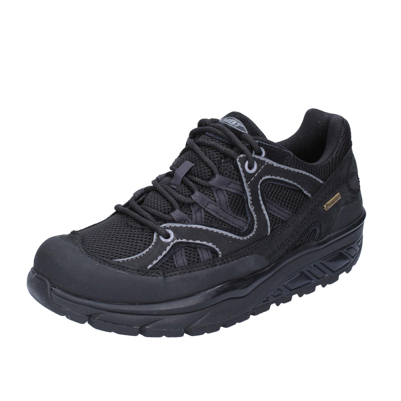 scarpe sneakers donna MBT 36 EU sneakers scarpe nero nabuk tessuto dynamic BT191-36 259fbd