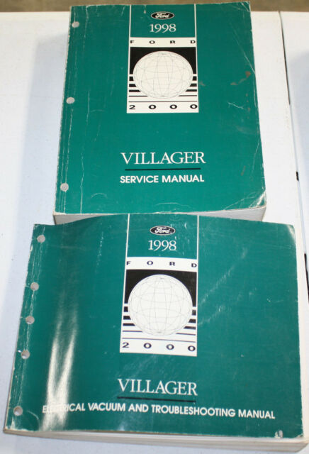 1998 Ford Villager Service Manual  U0026 Wiring Diagram