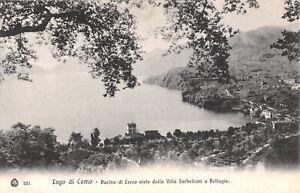 R315170 Lago di Como. Bacino di Lecco visto dalla Villa Serbelloni a Bellagio. B