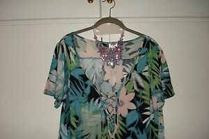 LADIES-K-amp-D-LONDON-TOP-BLOUSE-UK-SIZE-18-PLUS-SIZE-EXTRA-LARGE-BRAND-NEW-TAGS