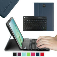 Slim Bluetooth Keyboard Case Stand Cover For Samsung Galaxy Tab S2 8.0 Tablet