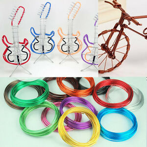 Jewelry-Making-Craft-Wrap-Aluminum-Wire-Crochet-Craft-Weaving-DIY-1Roll-5-Meters