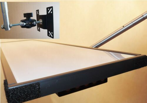PDR Light 5 LED Lines Aluminum frame Dimmer,Dual Balls Bracket Wires SALE TOOL