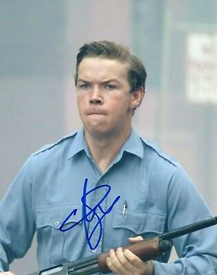 "~~ Will Poulter Authentic Hand-signed ""detroit Photographs Entertainment Memorabilia Krauss"" 8x10 Photo ~~ Grade Products According To Quality"