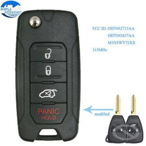 Replacement Remote Car Key Fob Fits 2007 Chrysler 300 Sebring Sedan