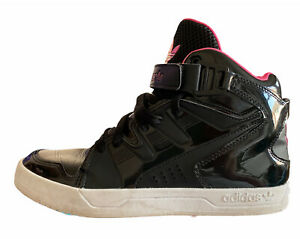 Details about Adidas Women's MC-X 1 W High Top Trainers Black And Pink Uk Size 7