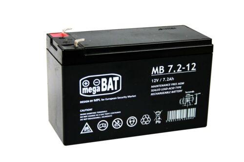 Batterie à Électrolyte Gélifié Pile AGM 6V//12V 4,5-14ah pour Véhicule Auto