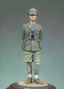 1-35-Scale-Resin-Figure-Model-Kit-German-fficer-WWII-Unpainted