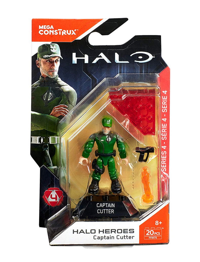 Mega Construx CAPTAIN GUNNER HALO Heroes Series 4 NEW