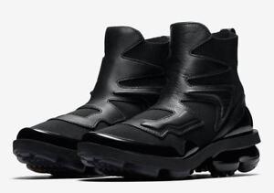 c7db279e1f768 SALE Nike Wmns Vapormax Light II 2 Hi Triple Black Women AO4537-001 ...
