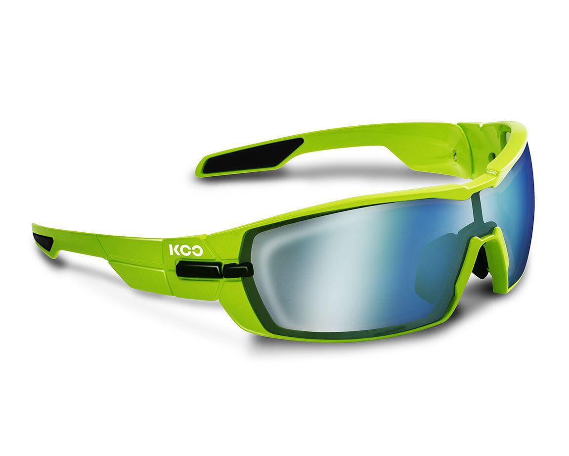 KASK KOO OPEN Sunglasses - Lime [Lens  Super bluee + Clear]