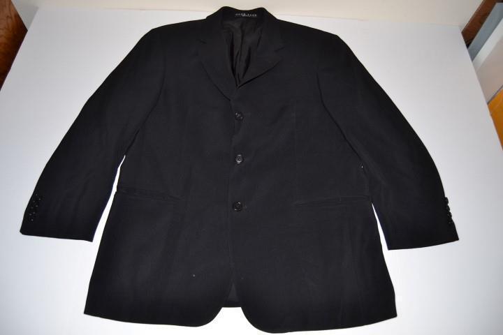 Hugo Boss Negro 3 Botones chaqueta de abrigo chaqueta Para  Hombre Talla 42s  los clientes primero