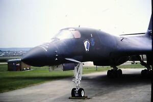 3-892-Rockwell-B-1-Lancer-United-States-Air-Force-Kodachrome-SLIDE