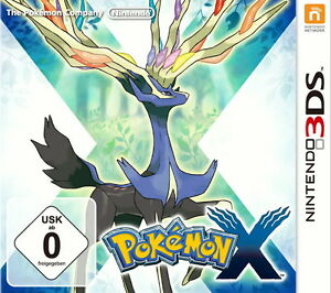 Pokemon-X-Nintendo-3DS-Deutsche-USK-Version-NEU-amp-OVP