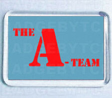 THE A-TEAM LOGO SMALL FRIDGE MAGNET -  80's COOL!