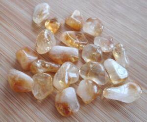 Details about Citrine Gemstones Tumblestones 20 Citrine Crystals 10mm to  12mm Grids, Zen