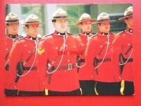 POSTCARD ROYAL CANADIAN MOUNTED POLICE