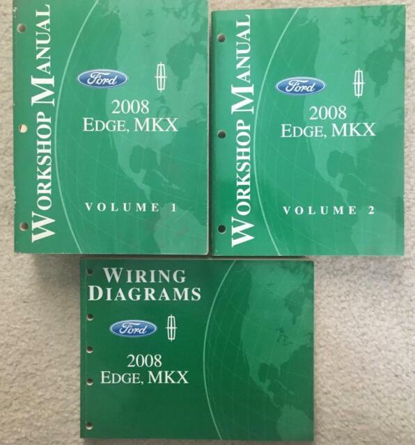 2008 Ford Edge Mkx Workshop Manual  U0026 Wiring Diagrams Oem