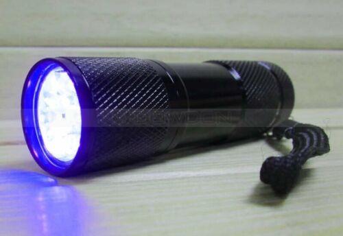 HANDHELD 9 LED UV LAMP FOR HAND STAMP CHECKING