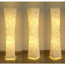 "Floor Lamp 52"" Fabric shade Simple shape Warm atmosphere Night Lighting Bedroom"