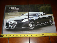 MAYBACH EXELERO COUPE V-12 TWIN TURBO 700 HP - ORIGINAL 2005 ARTICLE