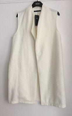Hilfreich M&s Sleeveless Open Front Jacket Sizes 14/16 Rrp £32.50 Von Der Konsumierenden öFfentlichkeit Hoch Gelobt Und GeschäTzt Zu Werden