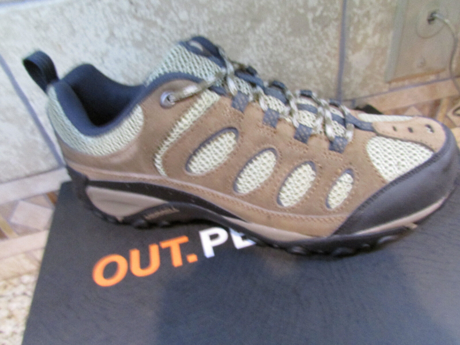Scarpe casual da uomo  NEW MERRELL FARADAY TRAIL HIKING SHOES uomoS 9.5 J276512C STONE/BROWN FREE SHIP