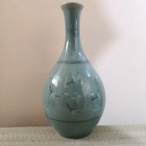 Korean-Crackled-Celadon-Vase-with-Cranes-and-Clouds-Print