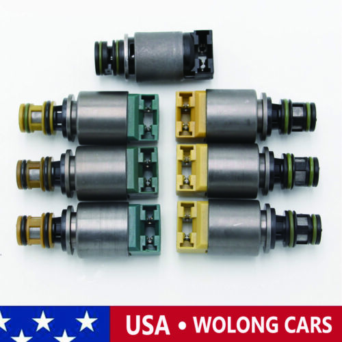 7PCS 6HP19 6HP26 6HP32 Transmission Solenoid for BMW X3 X5 AUDI A4 A6 A8 Q7